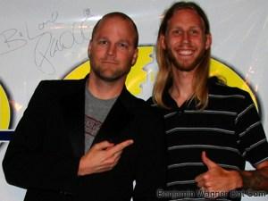Benjamin Wagner & KPTL's Daniel Boseman