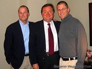 Tim Russert, Christofer & Benjamin Wagner