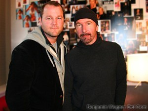 The Edge & Me at Sundance
