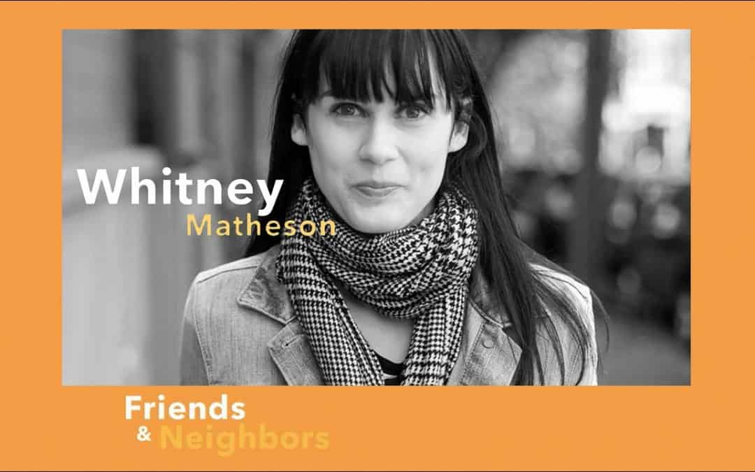 Whitney Matheson: Still Aways Away